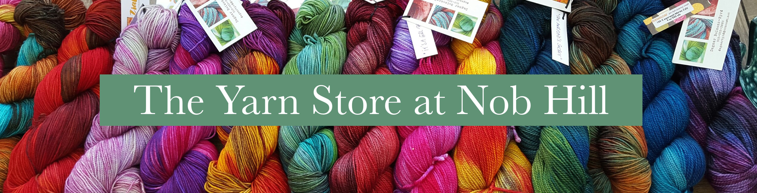Classes The Yarn Store At Nob Hill